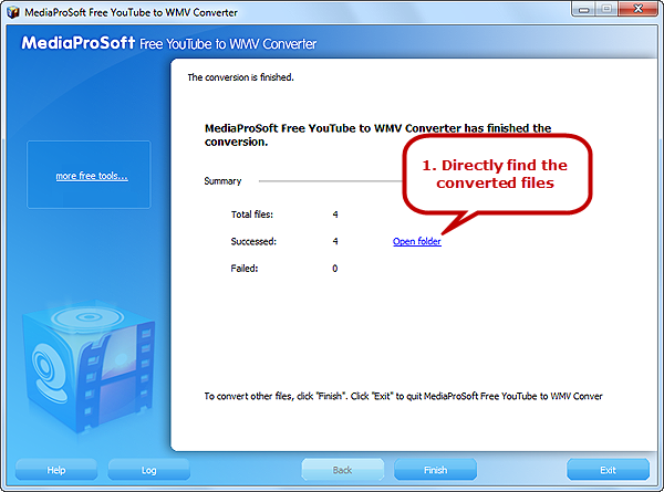 Free Convert YouTube to WMV and Play YouTube on Windows Media Player as You Wish